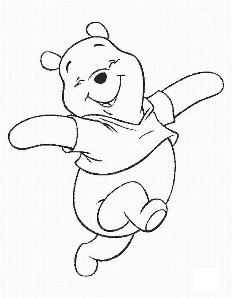 imagenes de winnie pooh para pintar