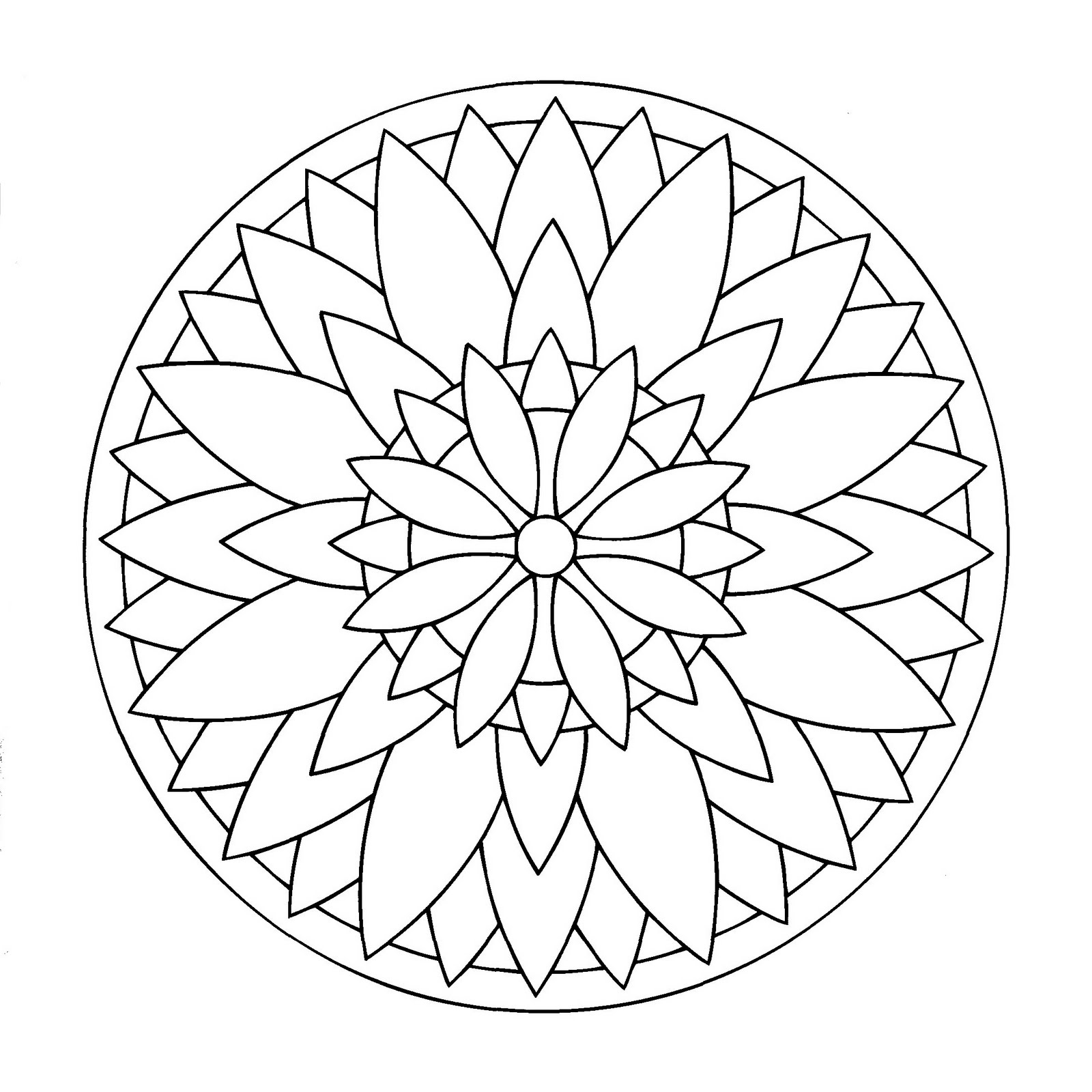 Tal M Colouring Pages Mandala Colorear