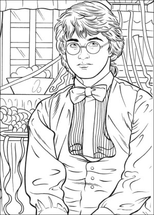 harry potter para colorear 03