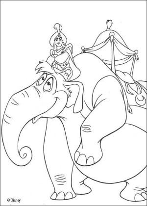 colorear elefantes