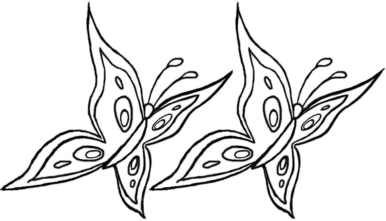 juego de pintar mariposas