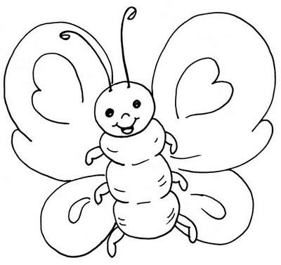 juegos de pintar a mariposas