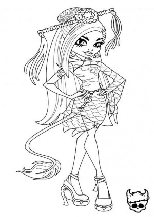 dibujos para imprimir monster high