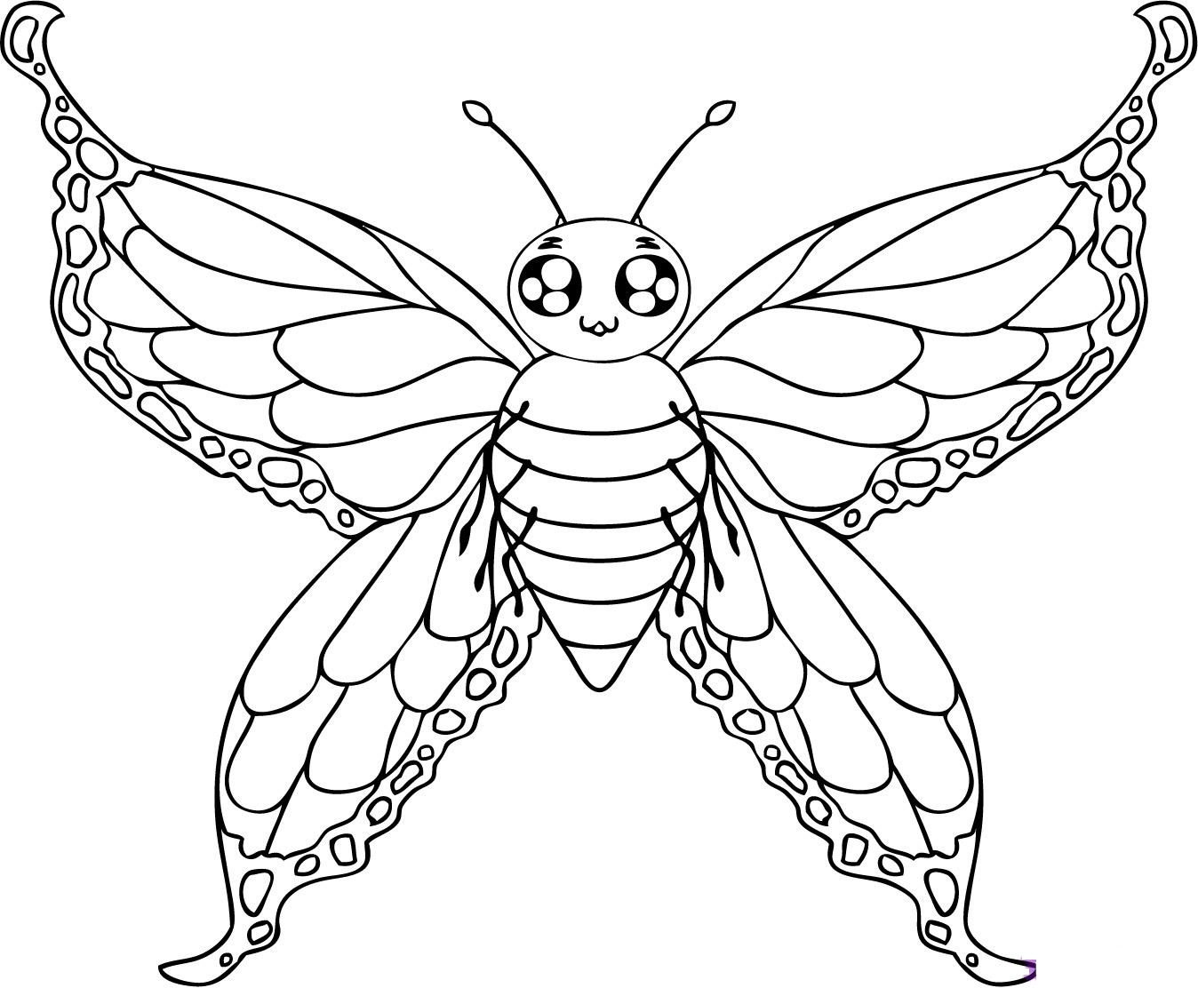 line drawing coloring pages - photo#25