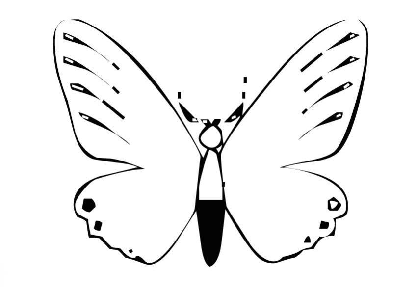 juegos de mariposas para pintar