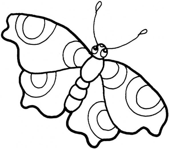 juegos para pintar mariposas