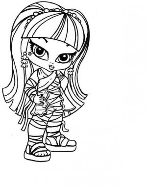 monster high para dibujar