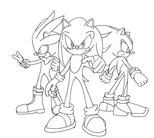 mario and sonic olympic games coloring pages - mario vs sonic pages coloring pages