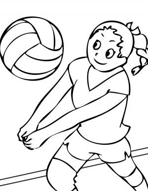 dibujos de deporte para colorear