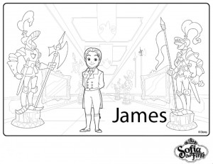 principe james para colorear