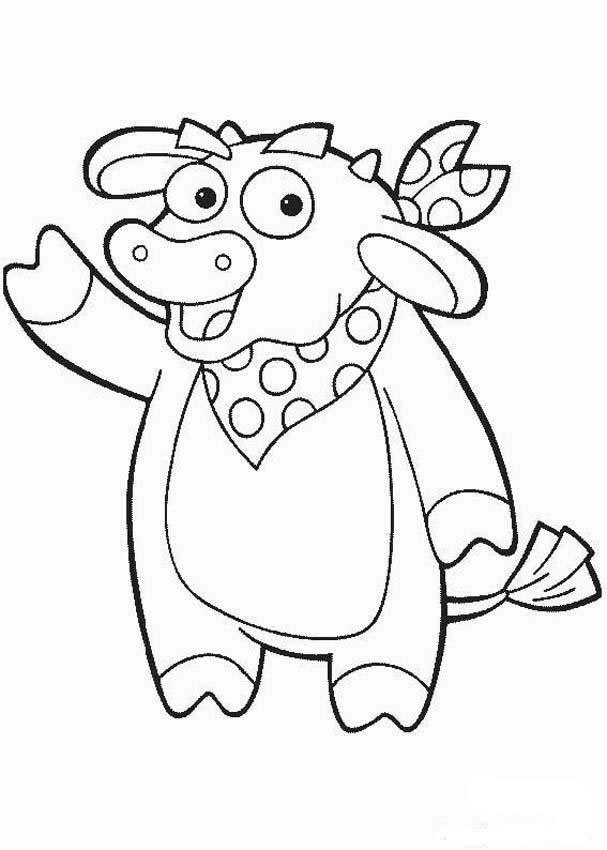 toro para colorear