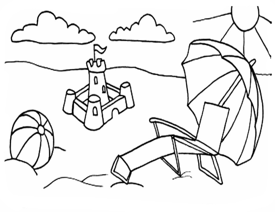 jamaica coloring pages of beaches - photo#3