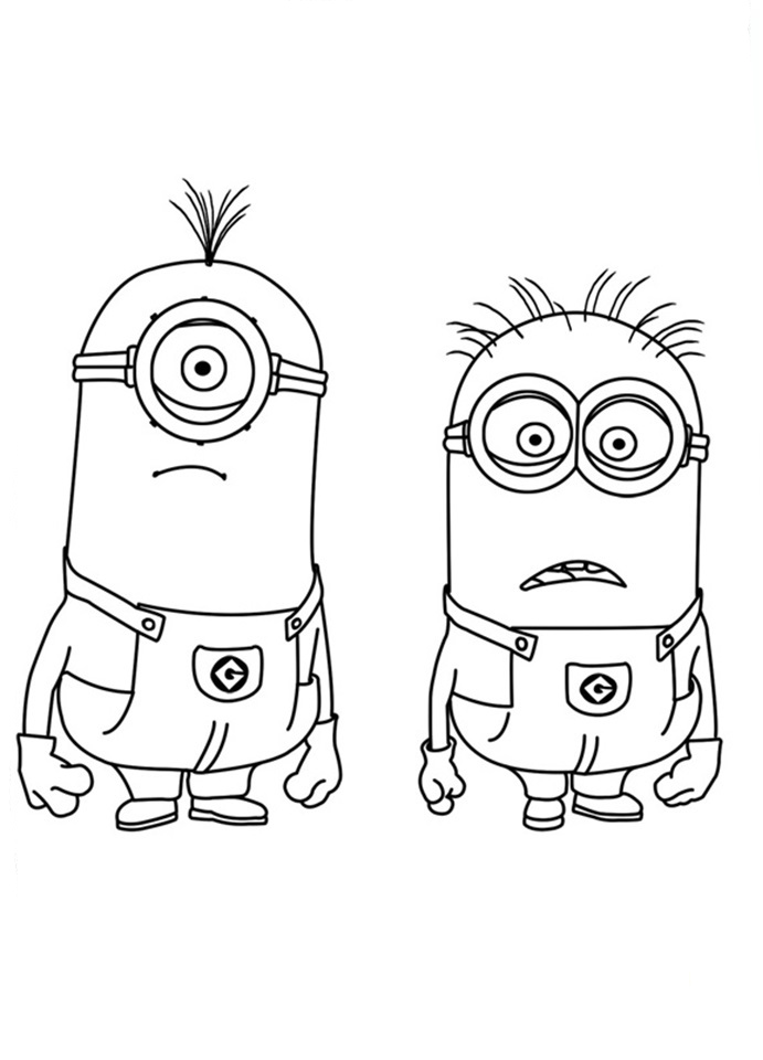 Free Coloring Pages Of Ble Me Minions