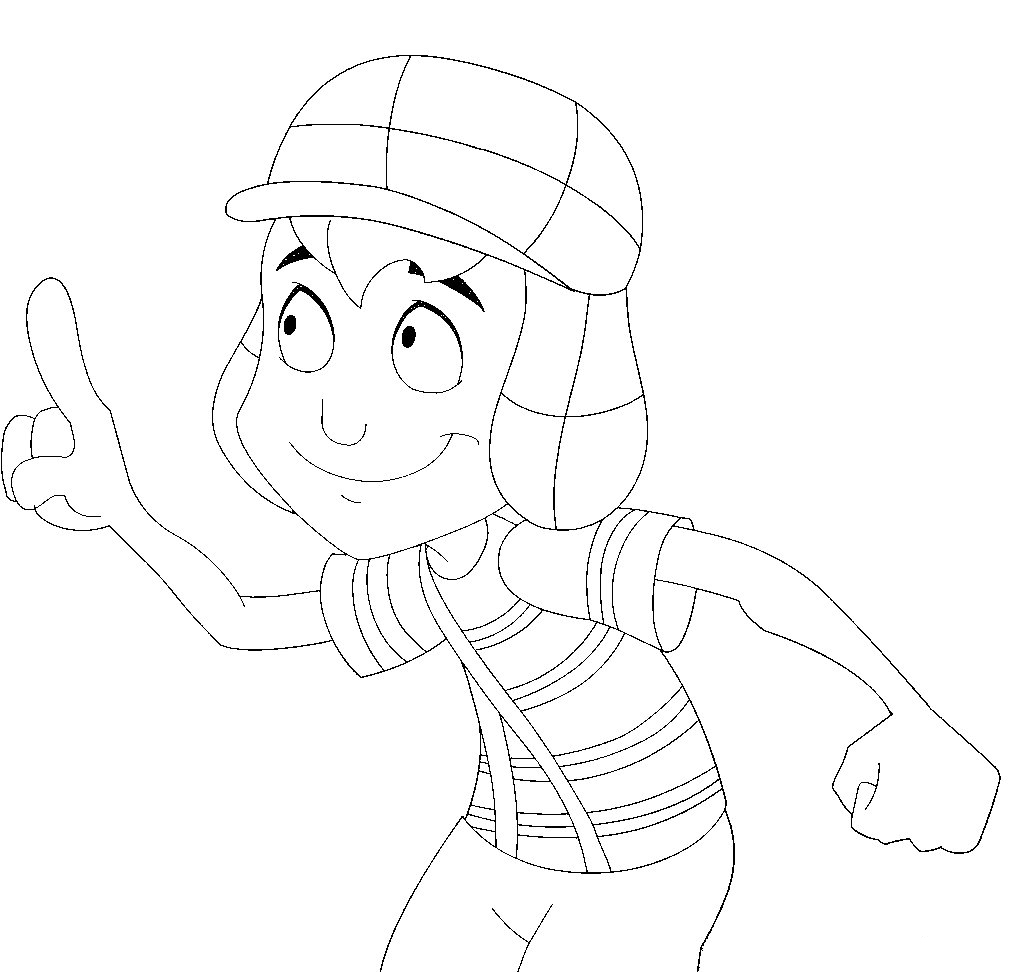 Clip Art El Chavo Del Ocho Coloring Pages adult beauty el chavo del ocho coloring pages images dashah best para colorear ocho
