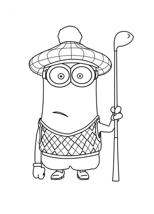 Free coloring pages of minions halloween - Imagenes de halloween ...