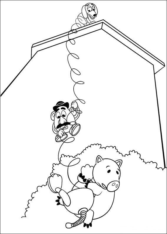 Toy Story para colorear pintar