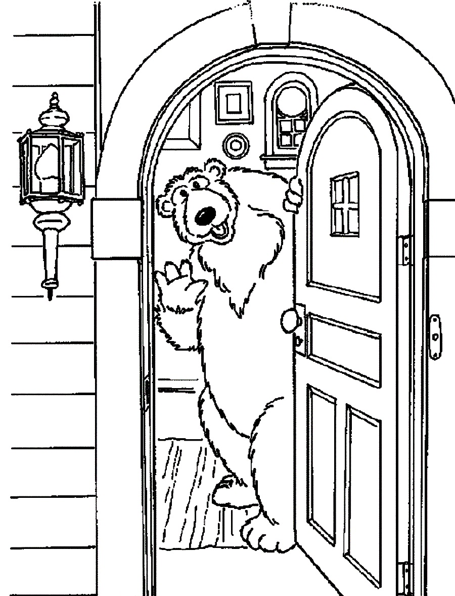 Doors Coloring Pages Front Door Coloring Page Doors