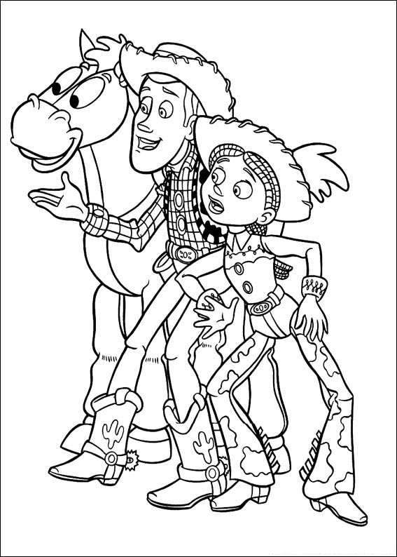 disney woody coloring pages - photo#22