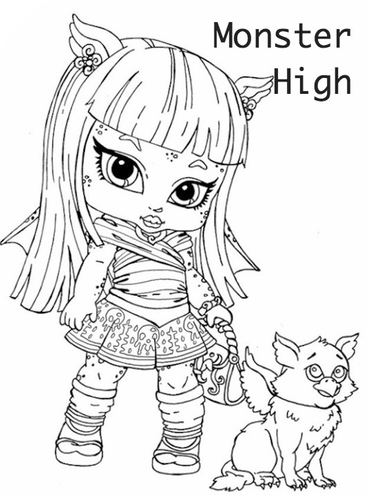Monster High para colorear