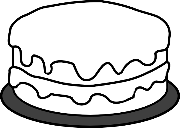 torta para colorear Colouring Pages (page 2)