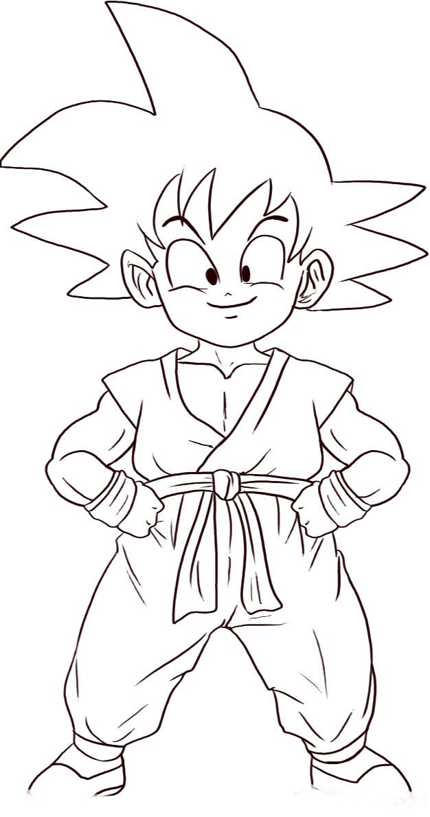Dragon Ball para colorear