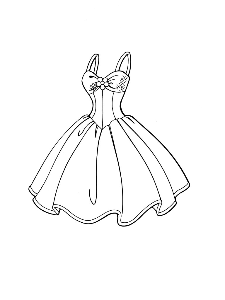 seventies fashion coloring pages - photo#16