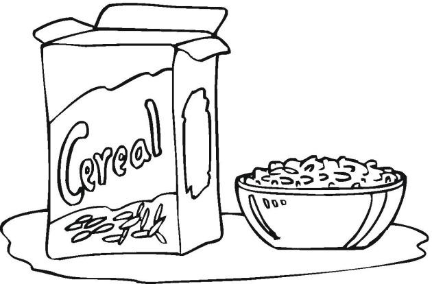 Cajas De Cereal Para Colorear