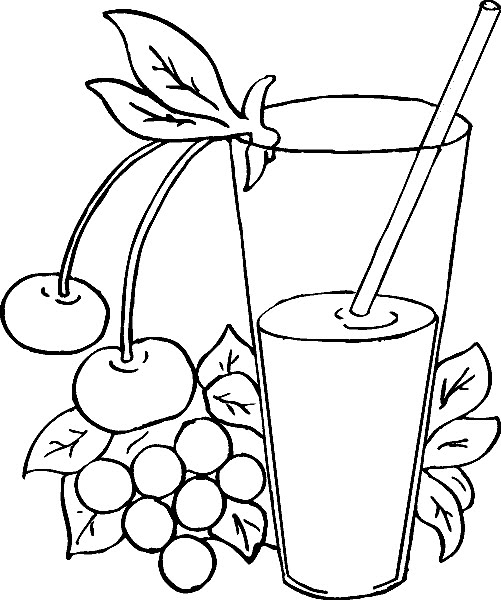 dibujos de refresco para colorear