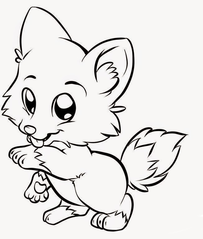 Free animales bebes coloring pages