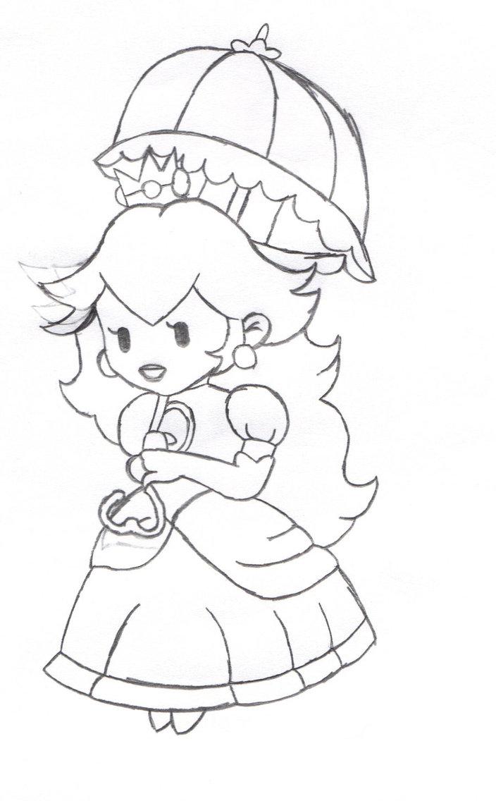 imagenes de princesas bebes para colorear