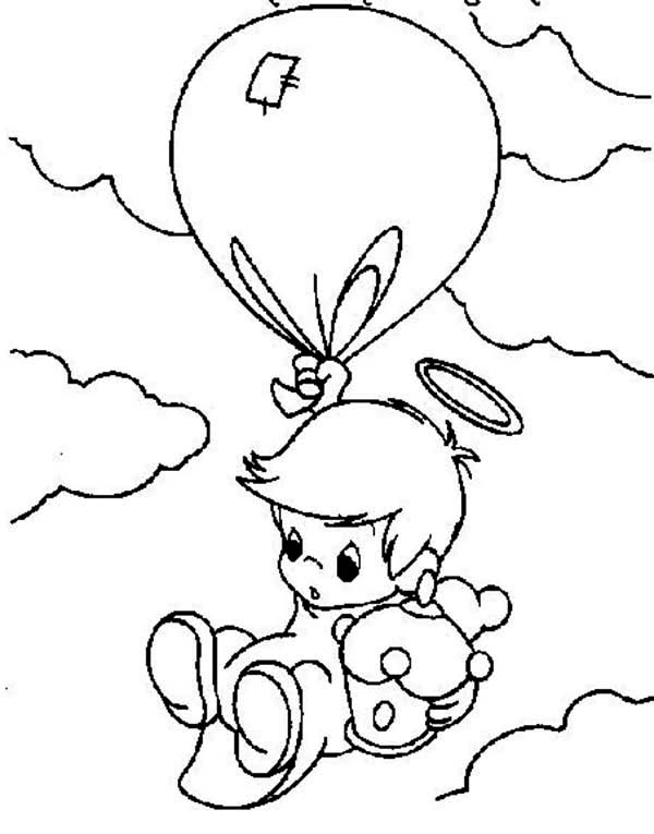 Precious Moments Angels Coloring Pages pr energy