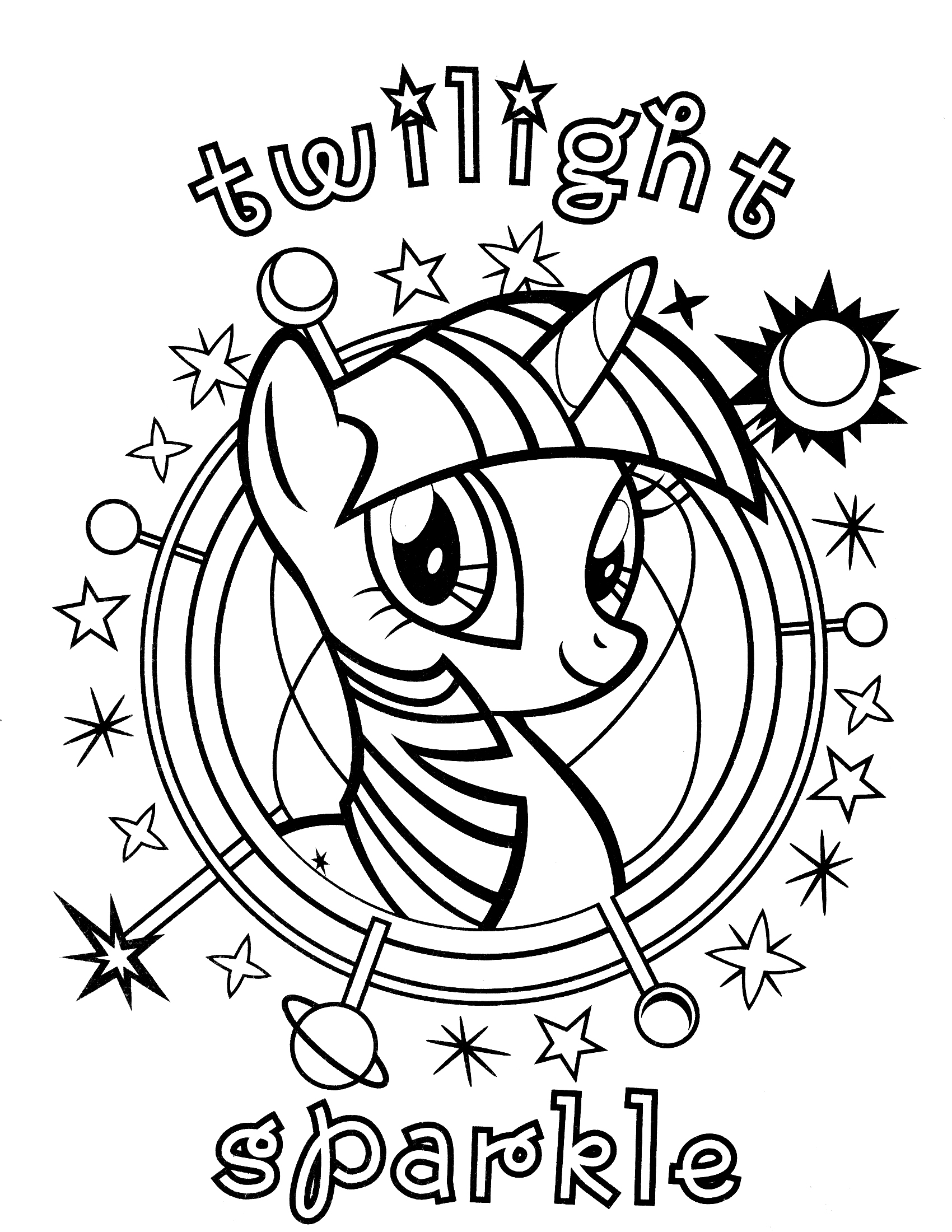 My Little Pony Names Coloring Pages : Juguetes para colorear pintar e imprimir