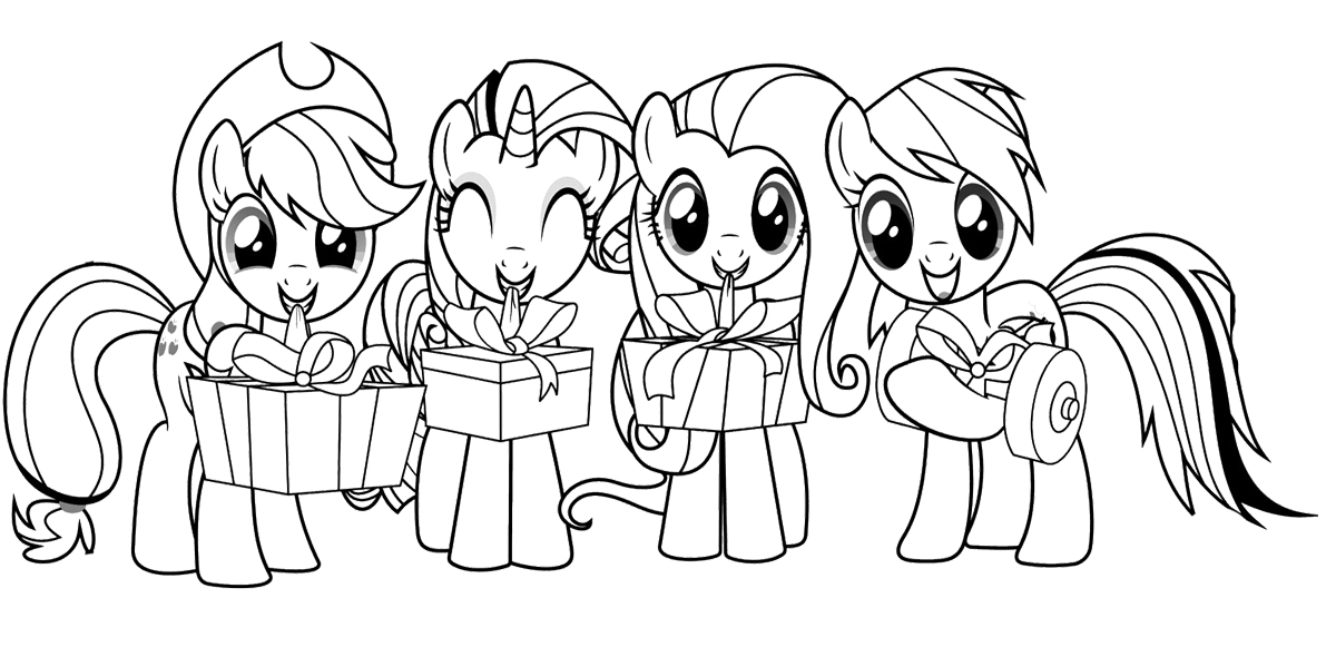 My little pony dibujos para pintar
