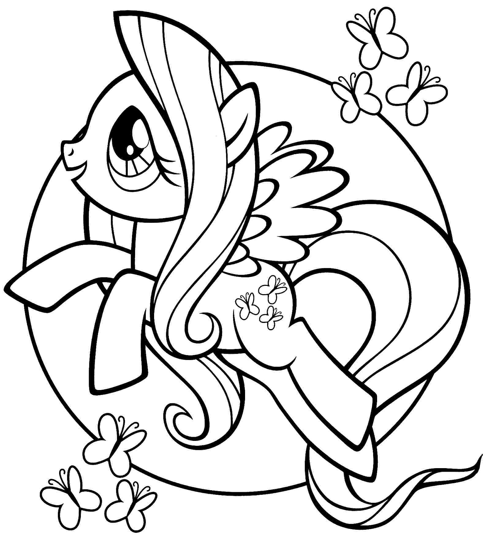 My little pony para colorear rarity