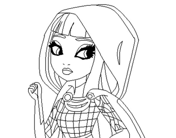 cerise hood ever after high para colorear