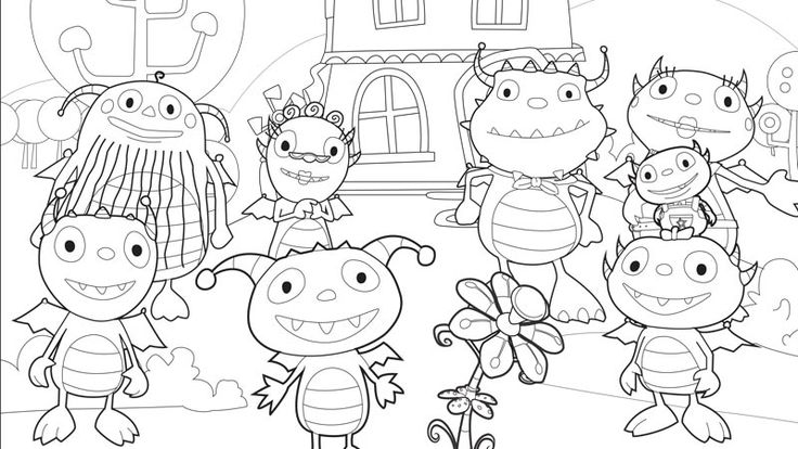 henry wiggle bottom coloring pages - photo#21