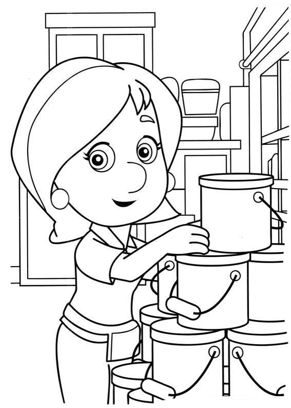 handy manny coloring pages e - photo#6