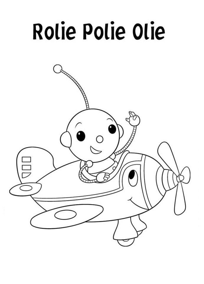 Rolie polie olie para colorear pintar e imprimir for Rolie polie olie coloring pages
