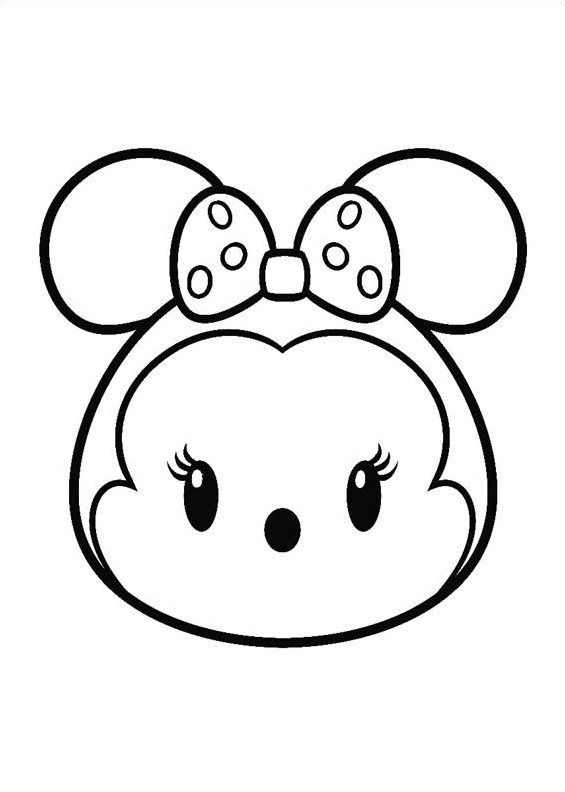Disney Tsum Tsum Printable Coloring Pages 2 Disney - Top Coloring ...
