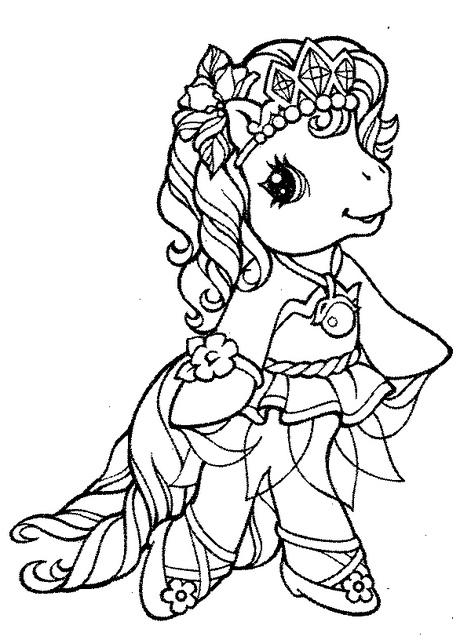 figuras de My little pony para pintar