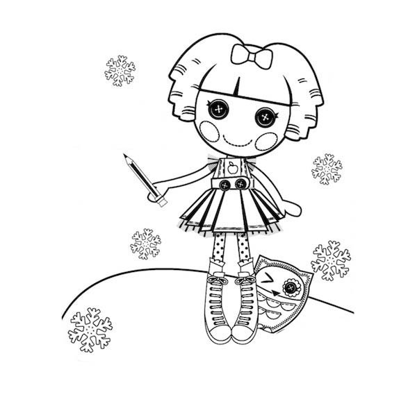 lalaloopsy coloring pages baby girl - photo#30