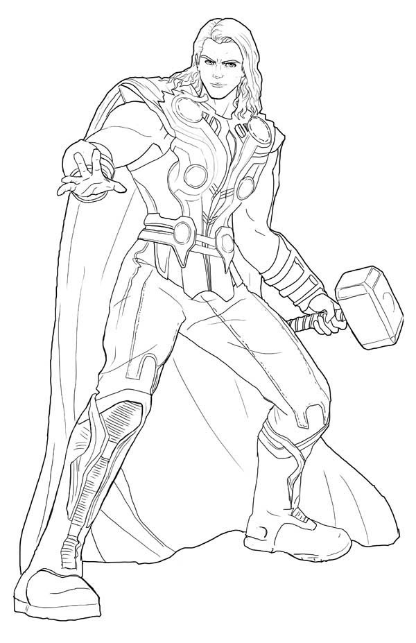 Thor Coloring Pages – images free download - Printable Thor Coloring ...