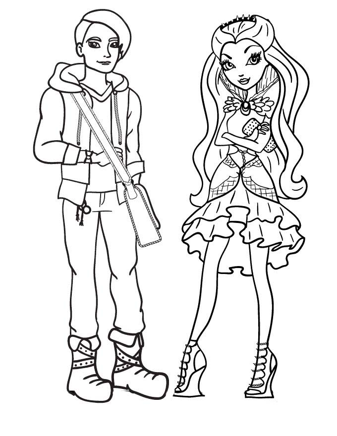 imprimir ever after high