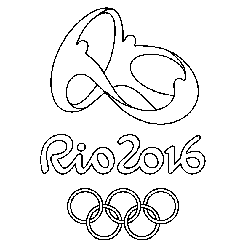 olympic coloring pages - olympic rings printable coloring pages sketch coloring page