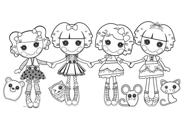 lalaloopsy babies coloring pages - photo#33