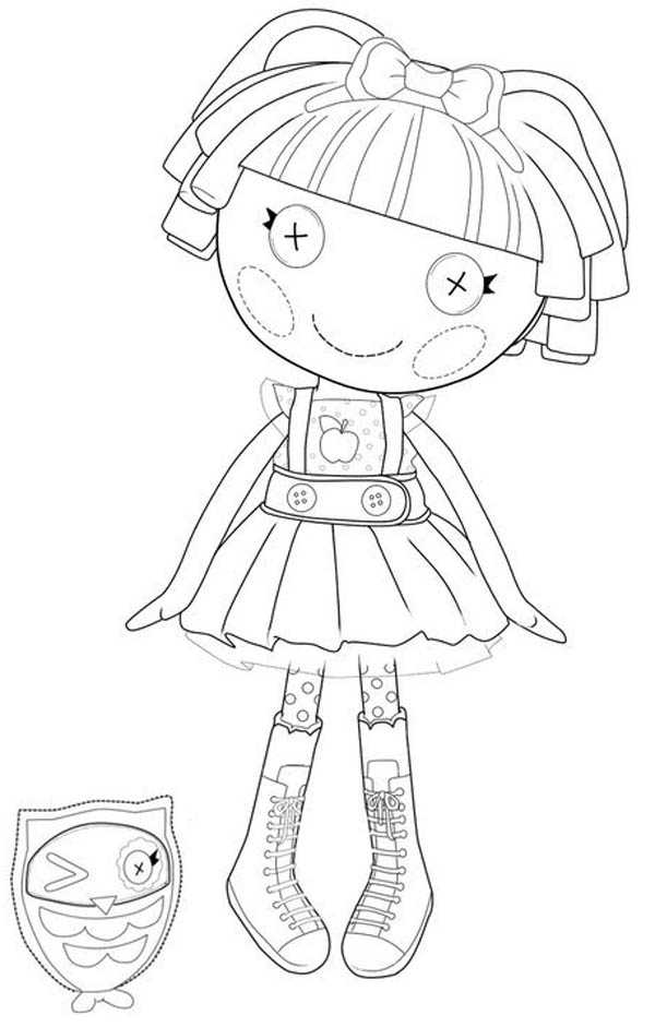 lalaloopsy babies coloring pages - photo#32