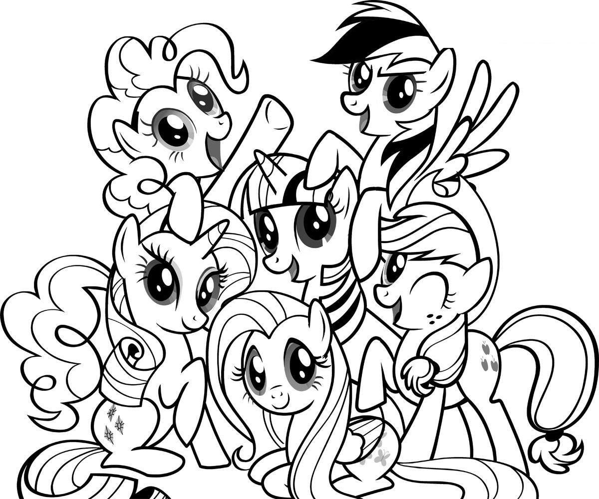 pintar de My little pony