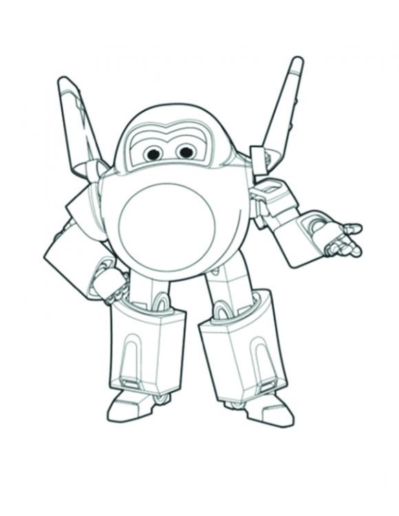 Super Wings para colorear, pintar e imprimir