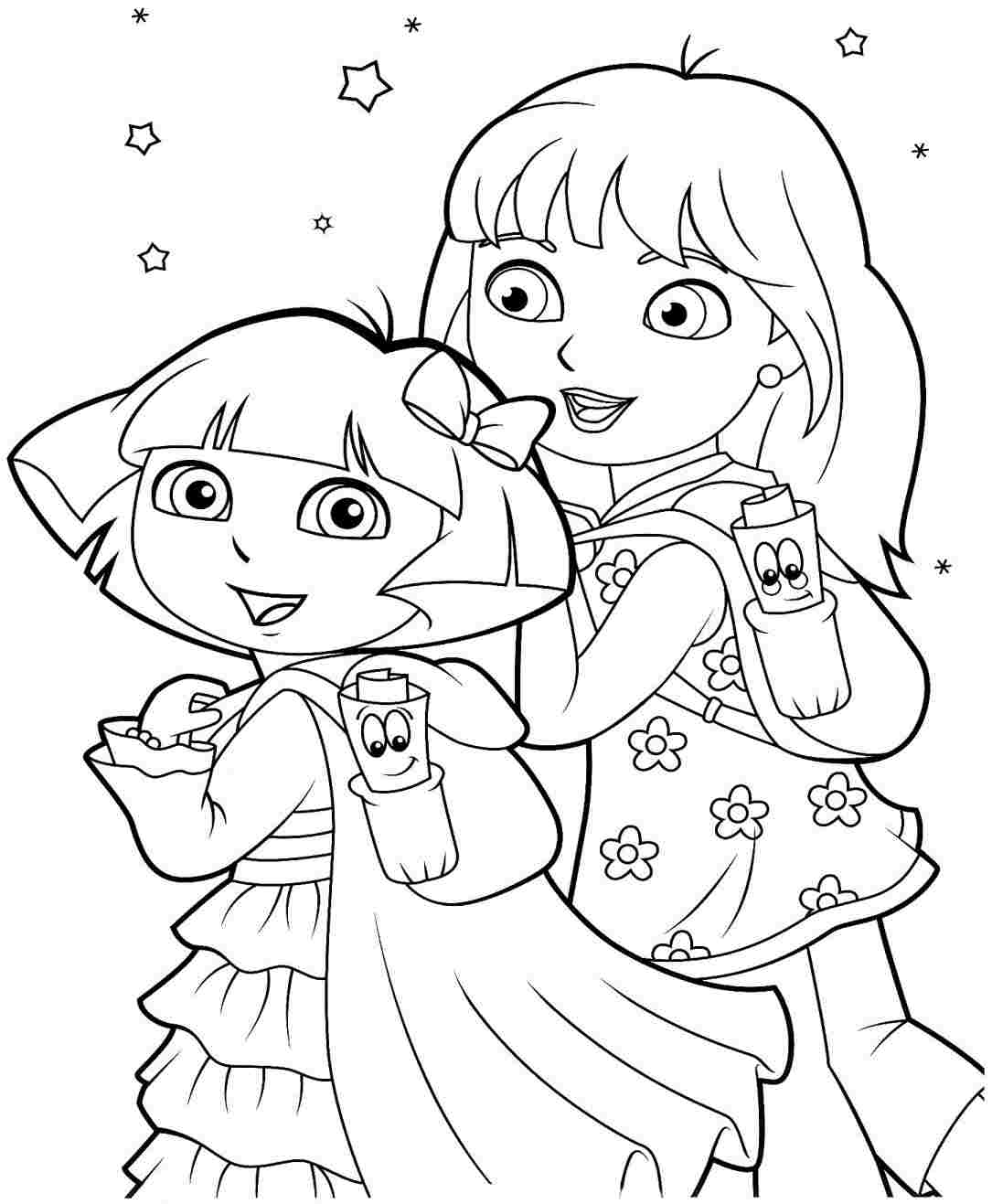 Mobile shimmer and shine coloring games coloring pages ausmalbilder -  Holiday Coloring Pages Nick Jr Halloween Coloring Pages Imprime Imu00e1genes De Dora Y Sus Amigos