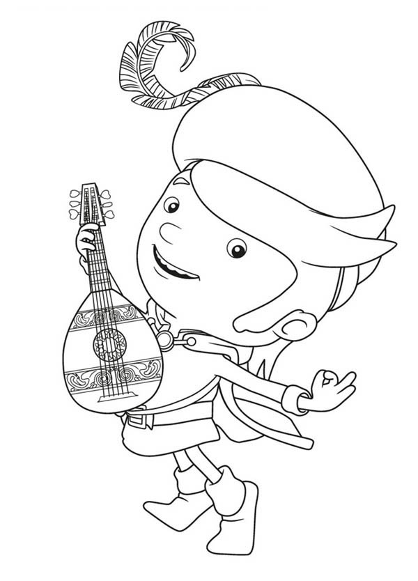 Mike The Knight Coloring Pages Dragoart